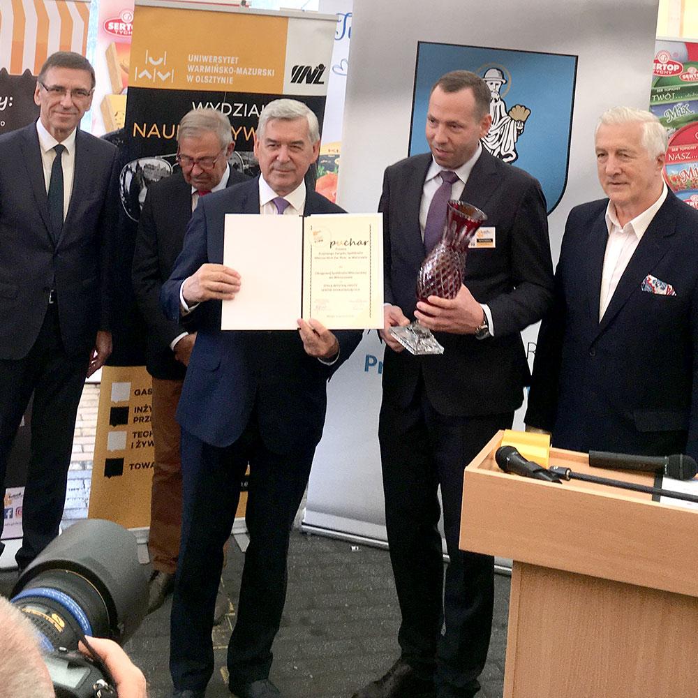 OSM Włoszczowa nagrodzona na 6 Ogólnopolskim Święcie Sera