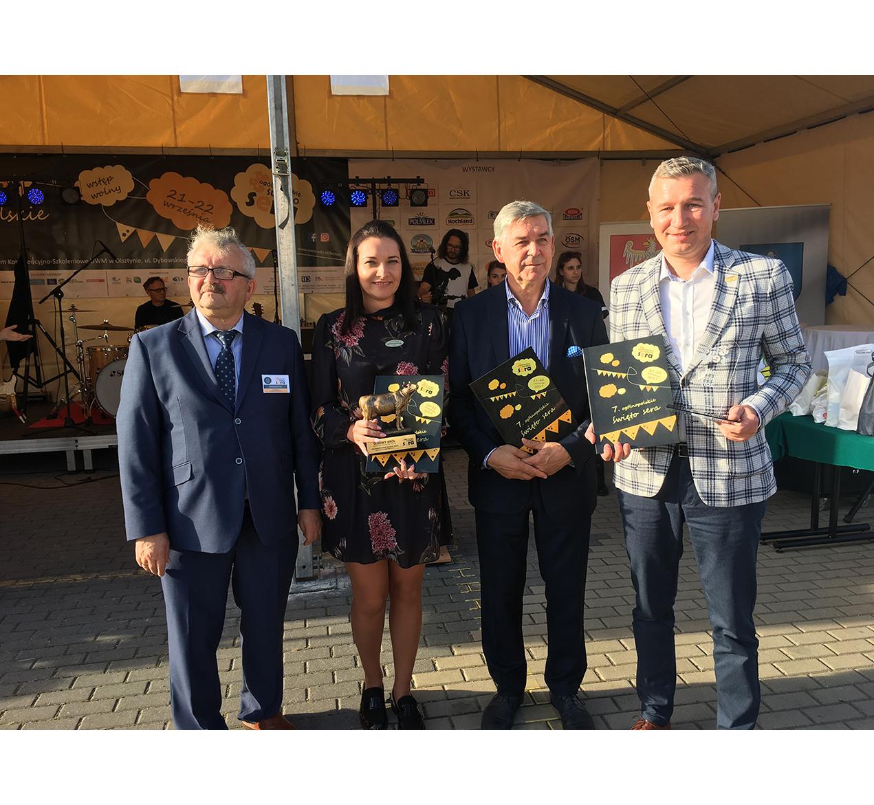 OSM Włoszczowa  zdobywa nagrody na święcie sera