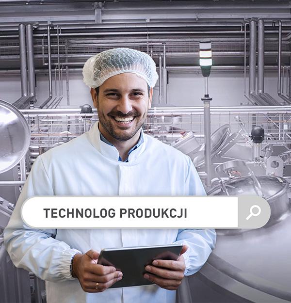 Technolog produkcji w branży spożywczej