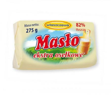 Masło osełkowe Extra