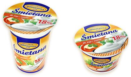 Śmietana 18% do zup i sosów